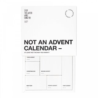 stop the water All Natural No Advent Calendar