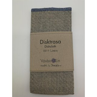 Växbo Spültuch / Dishcloth natur / blue