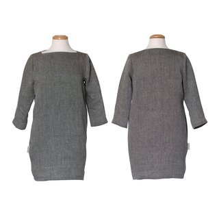 Växbo Linen dress Hanna L black